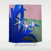 matisse Shower Curtains featuring The Dance by Brown Eyed Lady