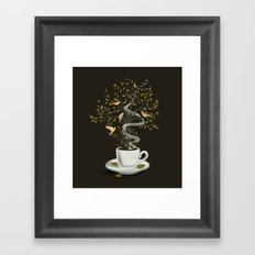 A Cup of Dreams Framed Art Print