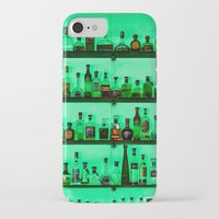 alcohol iPhone & iPod Cases featuring Alcohol Wall by Chee Sim