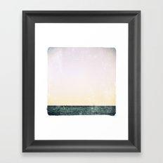 summer sail (pastel) Framed Art Print