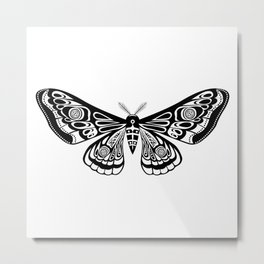 Night moths Metal Print