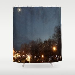 night festa Shower Curtain