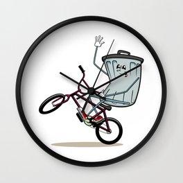 Wheelie Bin Wall Clock
