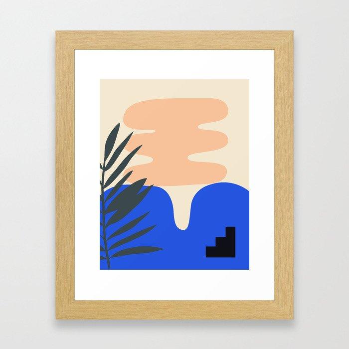 Shape study #14 - Stackable Collection Gerahmter Kunstdruck