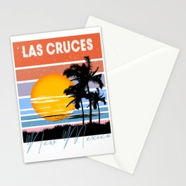 Las Cruces New Mexico Retro Vintage Custom Funny Stationery Cards
