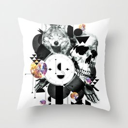 Now is the time Throw Pillow