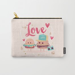 Burgers in Love Carry-All Pouch