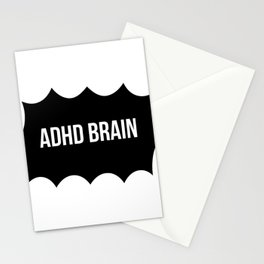 ADHD Brain Stationery Cards