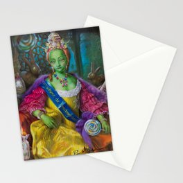 the Candy Queen / Madame de Bonbonniere Stationery Cards