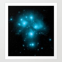 constellation Art Prints featuring Constellation by 2sweet4words Designs