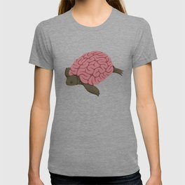 Tortoise brain T-shirt