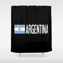 Argentina: Argentinian Flag & Argentina Shower Curtain
