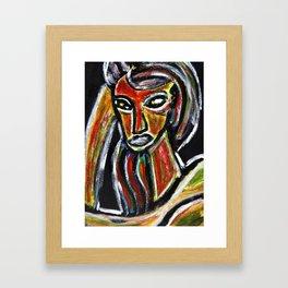 GRUDGE Framed Art Print