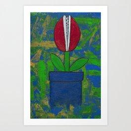 Bitey Blossom Art Print