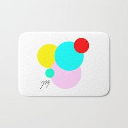 Color Bubbles 1 Bath Mat