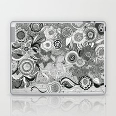 Going With The Flow[er] Laptop & iPad Skin