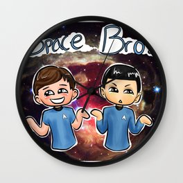 Star Trek: Space Bros Wall Clock