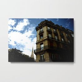 HOUSE IN PARIS Metal Print