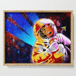 SPACE CHIMP Serving Tray