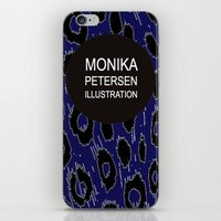 logo iPhone & iPod Skins featuring logo by monika petersen