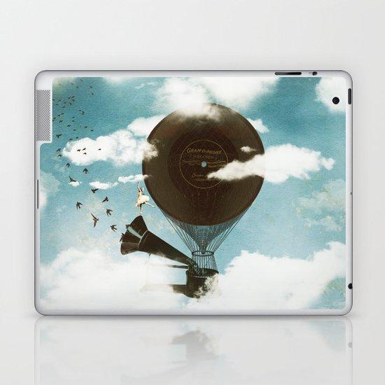Swan Lake Up in the Air Laptop & iPad Skin