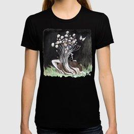 Empire of Mushrooms: Flammulina Velutipes T-shirt