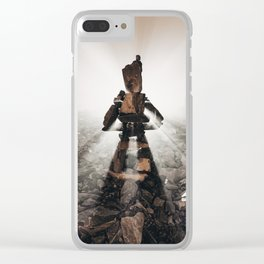 The Right Path Clear iPhone Case