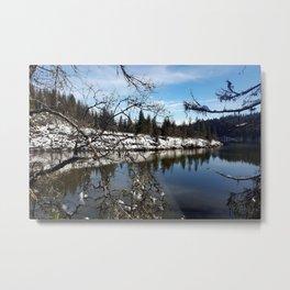 Lake Britton Metal Print