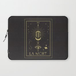 La Mort or The Death Tarot Laptop Sleeve