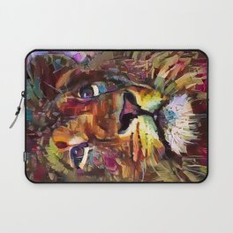 Colorful Lion Painting 2018 Laptop Sleeve