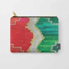 Mending the Rift - Red, Green & Gold Carry-All Pouch