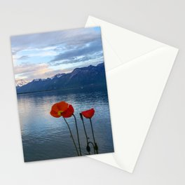 Springtime in Montreux, Switzerland Stationery Cards