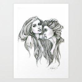 Gemini Mind Art Print