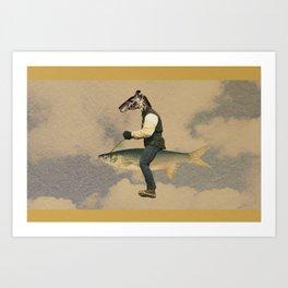 Viaje Art Print