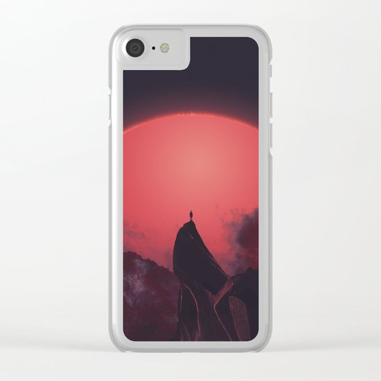 Abaddon Clear iPhone Case