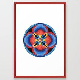 4 Rings Framed Art Print