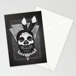 Witch Doctor - Full Render Stationery Cards