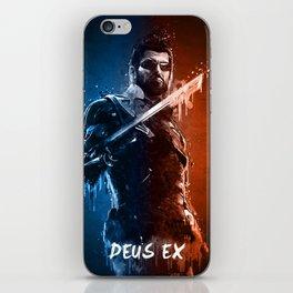 Acrylic 3D Deus Ex iPhone Skin