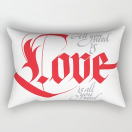 Love for share Rectangular Pillow