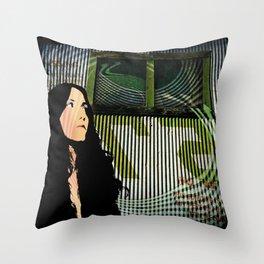 Something Strange Throw Pillow
