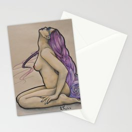 Purp Stationery Cards