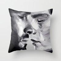 sterek Throw Pillows featuring sterek by Finduilas