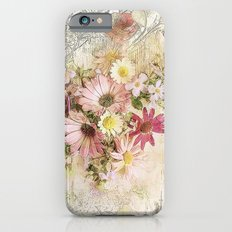 Sugar Sweet Shabby Chic Floral Slim Case iPhone 6s