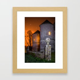 Burning Dawn Framed Art Print