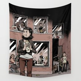 Digestate Wall Tapestry