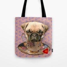 A little pug of tea Tote Bag