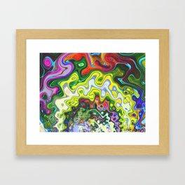 Gamma Tides Framed Art Print