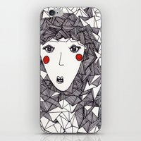 the who iPhone & iPod Skins featuring who by Eliza L