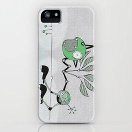 Very Green Schrieky iPhone Case