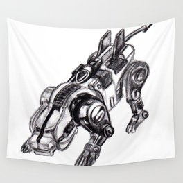 Voltron Yellow Lion Wall Tapestry